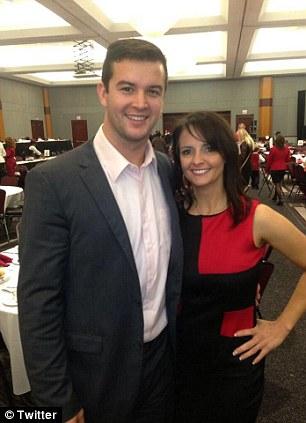 Controversy: Katherine Webb and Dee Dee McCarron (left) are Alabama Crimson Tide quarterback A.J. McCarron's biggest fans