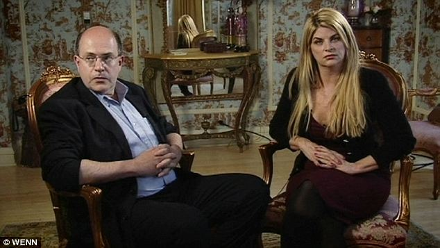 Actress Kirstie Alley, right, was also interviewed for the documentary which Miscavige tried to thwart