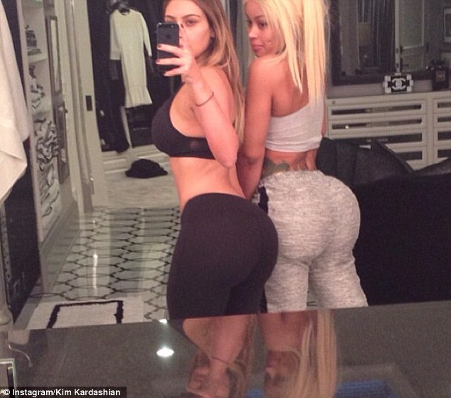A helping hand? While there's no denying Kim Kardashian's tiny waist, flat stomach and voluptuous hourglass curves are nothing short of showstopping, one expert has claimed the 33-year-old reality star may have received a little help along the way