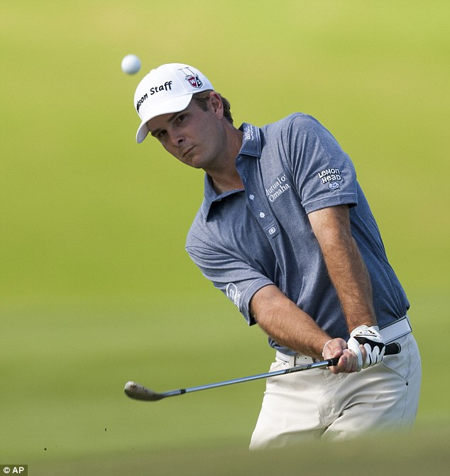 In the running: American Kevin Streelman finished tied third on 17 under
