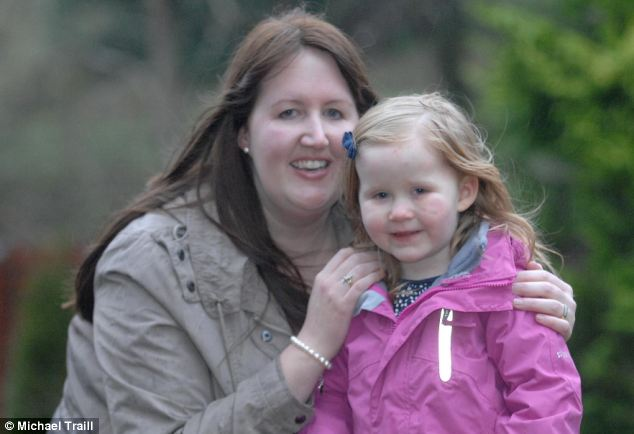 After Hannah had been released from hospital for the first time, she had to be rushed straight back to have part of her bowel removed. She was in hospital for another two months before finally being allowed home for good