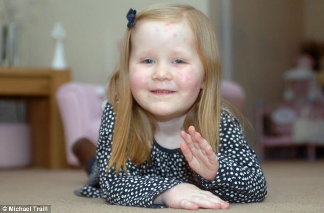 Hannah is now to take part in a fundraising walk to help raise money for the hospital that saved her life