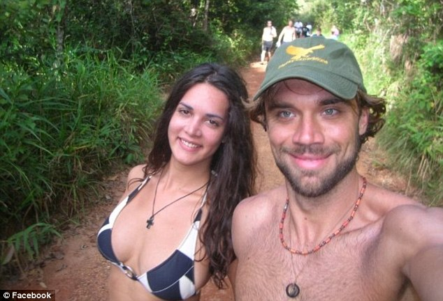 Heartbreaking: Monica Spear Mootz, 29, and Thomas Berry, 39, had an amicable split a year earlier but took vacations together with their daughter- including the one they were on when they were killed