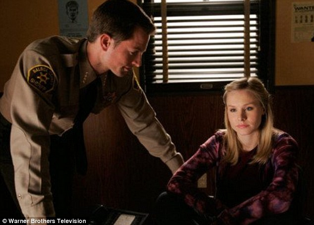 No resurrection: With his untimely death, it's not surprising that Michael won't be appearing in the Veronica Mars feature film, which hits cinemas in March, starring Kristen Bell, however, Jerry O'Connell will star as his younger brother, Sheriff Dan Lamb