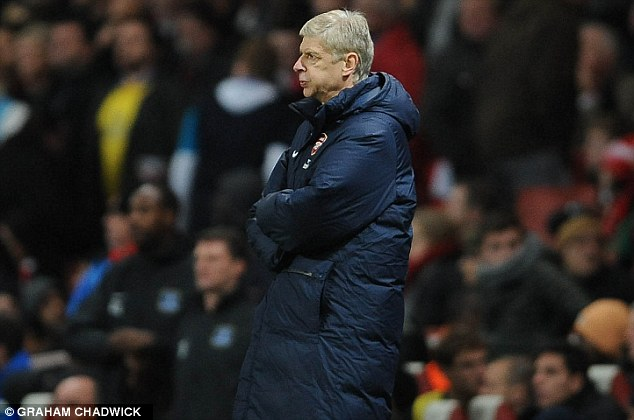 Special feeling: Martinez said it was a special feeling to see Everton worrying Arsenal boss Arsene Wenger