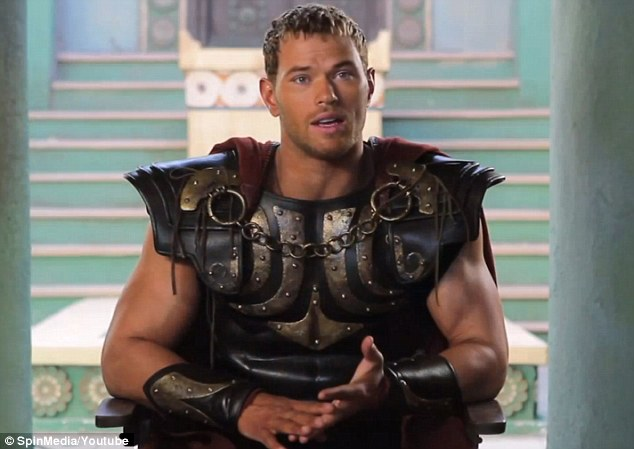 Move over Thor! Kellan claims that his role as Hercules will make a big impact on moviegoers this year