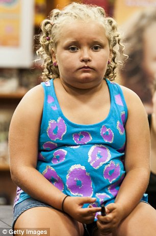 Traumatic: Honey Boo Boo has reportedly been left with a headache after the accident