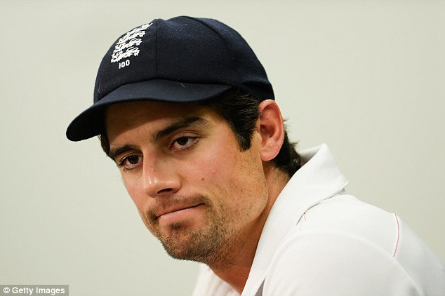 Tough to take: England captain saw his side win the Ashes 3-0 in the summer and then lose 5-0 a few months later