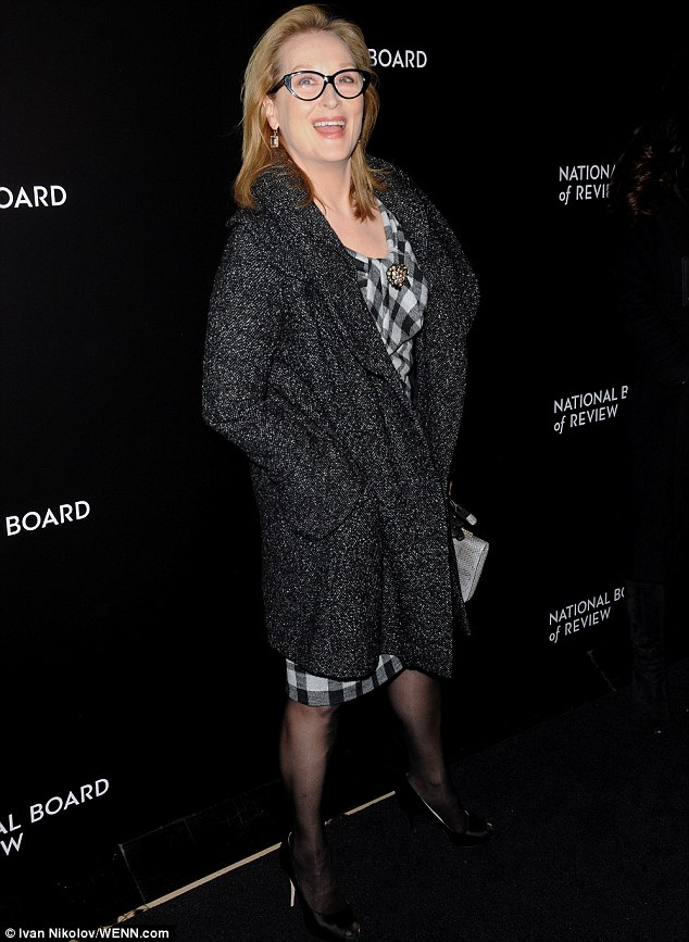 Busy time of year: Meryl has been appearing at a string of events during awards season