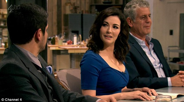 Not so successful: Nigella Lawson's show The Taste failed to draw in the viewers upon its UK debut on Tuesday night