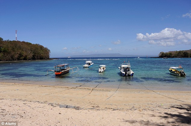 Idyllic: The resorts and beaches of Bali attract millions of guests every year
