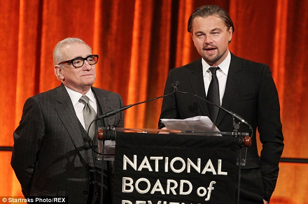 Career Collaboration: Martin Scorsese and Leonardo DiCaprio also took home the Spotlight Award