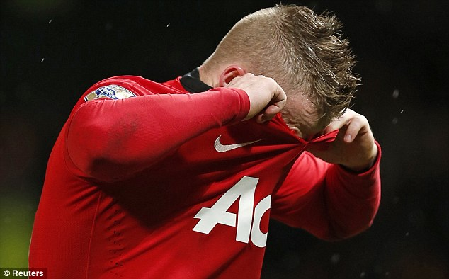 Can't show his face: Alexander Buttner has failed to impress on the rare occasions he has played