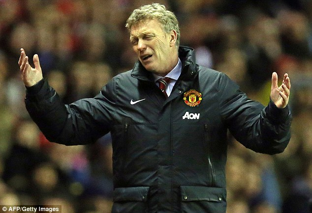 It's not all my fault! David Moyes has been widely blamed but his players have to take responsibility