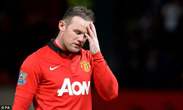 Out: United are missing Wayne Rooney's goals and assists. He's currently out with a groin injury