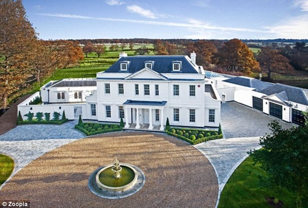 Up for sale: The £4.5m property Tulisa lived in for 11 months has been put up for sale