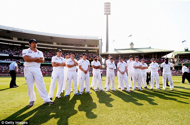 Smashed: England were thrashed 5-0 by Australia to relinquish the Ashes urn