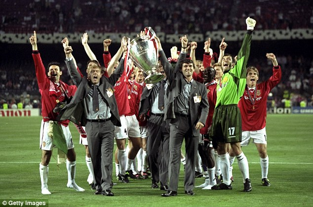Historic: United won a host of trophies under Ferguson - and securing the treble in 1999 was their finest hour