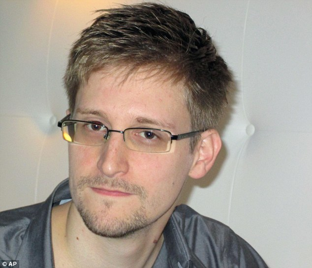 Leaked: The controversial NSA spying program was leaked to the media by former defense contractor Edward Snowden