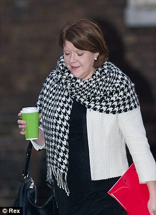 'Idiot': Culture Secretary Maria Miller was accused of doing nothing to involve the rest of the Empire during the 100th anniversary celebrations