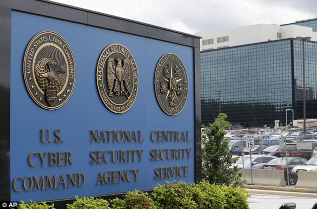 Violation: A judge ruled last month that the NSA's bulk collection program appeared to violate Fourth Amendment