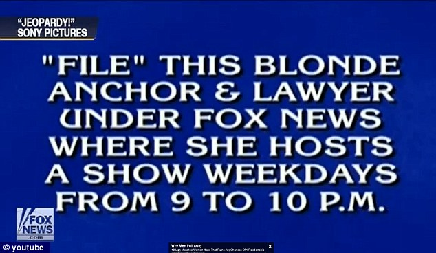 Stumped: The answer was 'Megyn Kelly' but nobody ever even heard of her