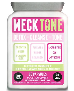 MeckTone is a three-in-one detoxifier, cleanser and metabolism booster