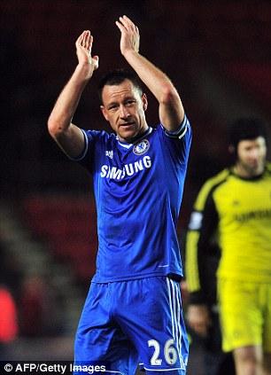 Clap it up: John Terry enjoys a net worth of approximately £20million