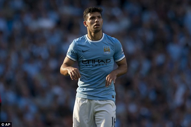 Roll with it: Sergio Aguero completes the top 10