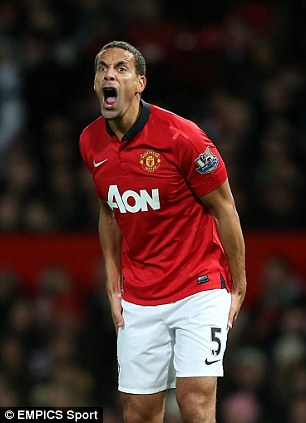 United we stand: Rio Ferdinand tops up his wages with his earnings from his '#5' brand