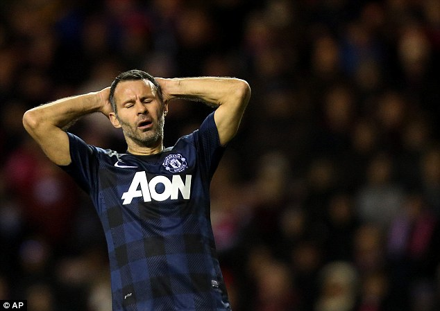 Cheer up! 40-year-old Ryan Giggs is the third Manchester United player on the rich list