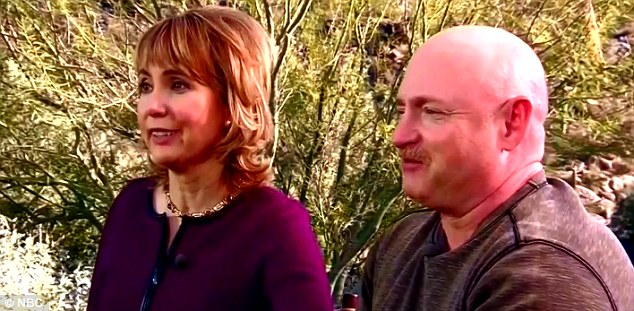 The former Congresswoman and her husband Navy veteran and astronaut Mark Kelly said they were moving on following the attack in 2011