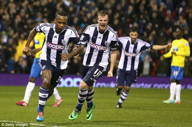 Looking for stability: West Brom beat Newcastle in their last league game thanks to a Saido Berahino goal