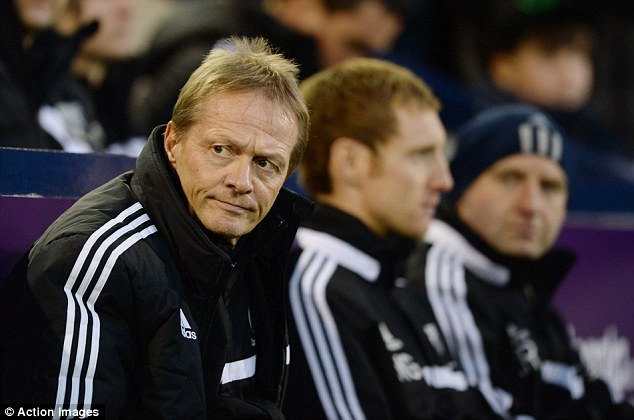 Looking after things: Keith Downing has been in the caretaker role since Steve Clarke was sacked last month