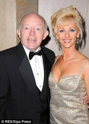 Gallons of floodwater cascaded into Paul Daniels' home which he shares with his partner Debbie McGee