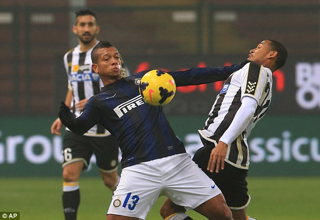 Makeweight: Guarin (left) looked destined to join Chelsea, but could be used in another deal