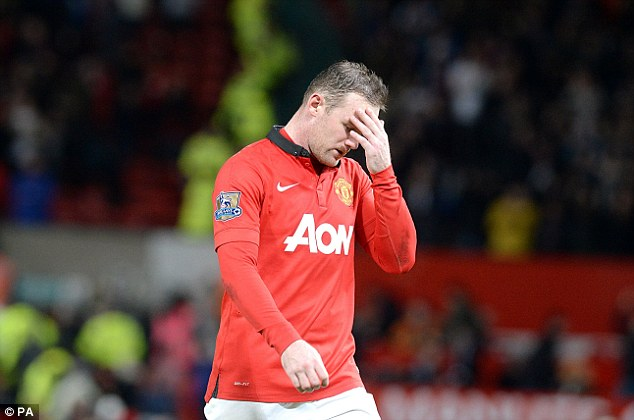 Break time: Wayne Rooney has been sent abroad for warm-weather training to improve his groin problem