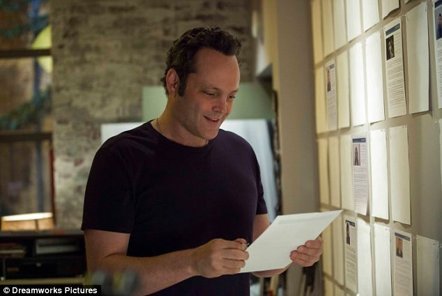 Limp comedy: Vince Vaughn is affable underachiever David Wozniak, whose mundane life is turned upside down when he finds out he fathered 533 children through anonymous donations to a fertility clinic