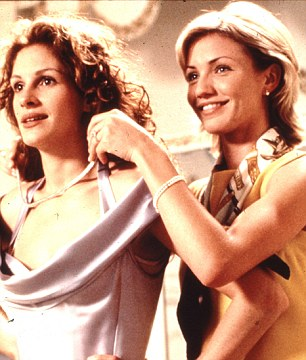 Julia Roberts and Cameron Diaz in My Bets Friend's Wedding