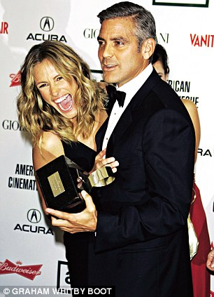 She counts George Clooney among her closest friends. 'He is such a treasure to me,' Julia said