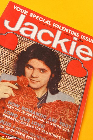 David Essex on the cover of Jackie