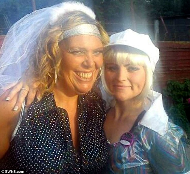 It was only when her straight-talking mother Marie, pictured left, told Stacey, left, that she might die that she truly realised it was time to ditch the fatty snacks