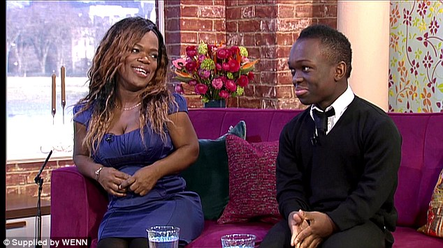 44 year-old student Mary and her protective 16 year-old son Reece. Before appearing on The Undateables, Mary had been in two relationships but said 'I would love to be in love. Real love. I just want to know what that feels like'
