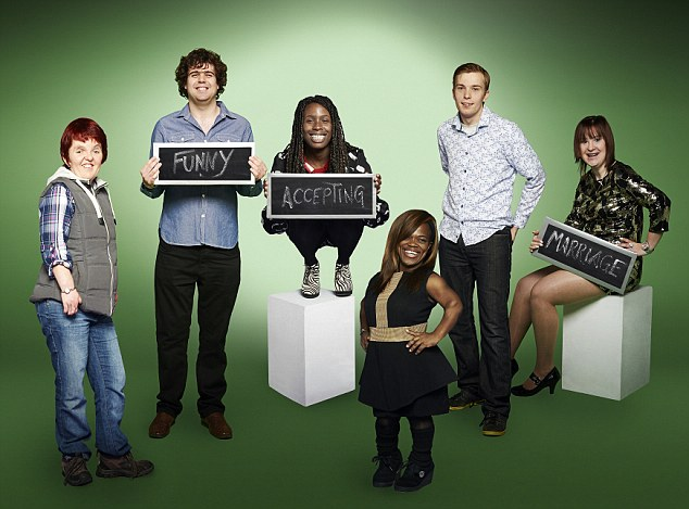 The stars of series three of Channel 4's controversial show 'The Undateables'