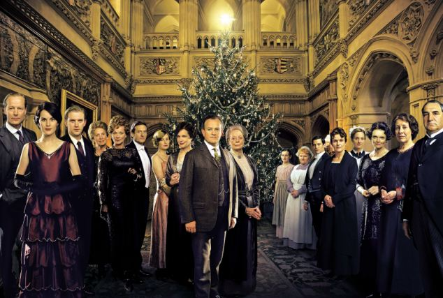 Top ratings: Downton Abbey's 2011 Christmas special received 3.1 million views through ITV Player. The 2012 version was almost as popular on the catch-up service, bringing in an extra 2.76 million viewers