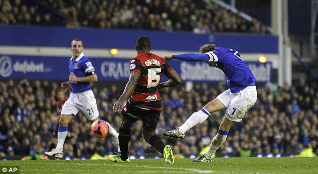 Off the mark: Jelavic scored his first goals of the season in last Saturday's FA Cup win against QPR