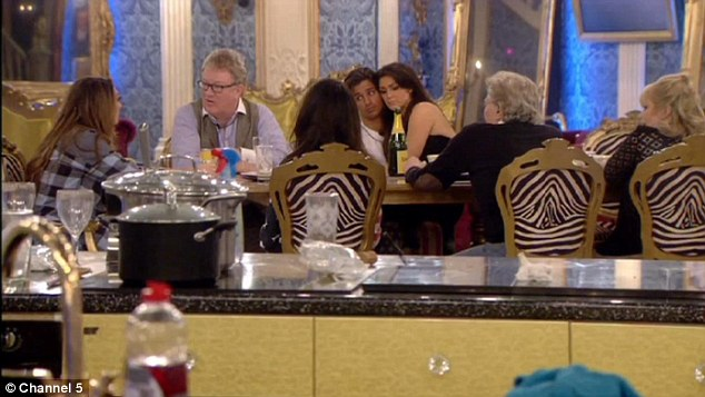 Rumble in the Big brother jungle: Luisa seems to upset the older members of the house