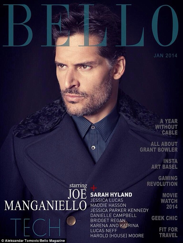 Available now! Joe Manganiello suited up for the January edition of Bello, which features a sophisticated spread shot by Aleksandar Tomovic