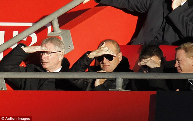 Shady: New West Brom boss Pepe Mel sitting in the stands - he took over after the game