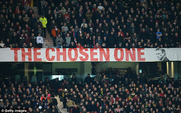 Tenterhooks: Despite continued support from the fans, Moyes was under pressure before the game